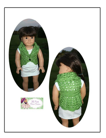 Cir-Collar Vest Crochet Pattern
