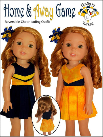 "Home & Away Game 14.5"" Doll Clothes Pattern"