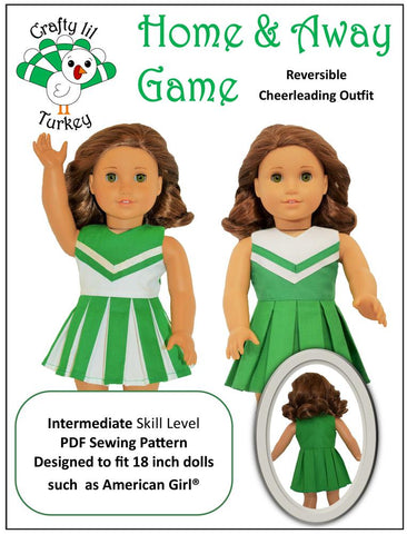 "Home and Away Game 18"" Doll Clothes Pattern"