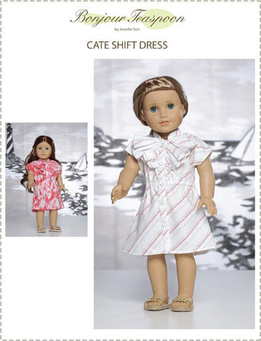 Cate Shift Dress for Girls and Dolls Bundle Pattern