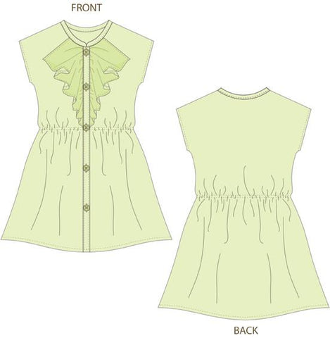 "Cate Shift Dress 18"" Doll Clothes Pattern"