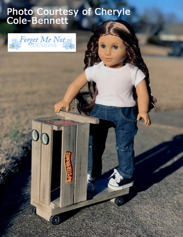 "Ready, Set, Go! Scooter 18"" Doll Crafting Pattern"