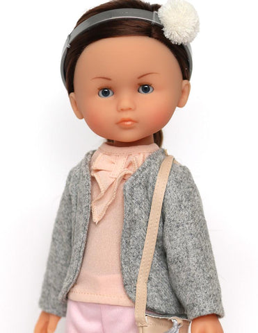 "Chloé Salon de Thé 13"" Les Cheries and Mini Doll Bundle"