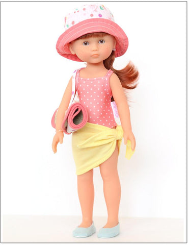 "Clara Sunny Days 13"" Corolle Les Cheries and Mini Doll Bundle"