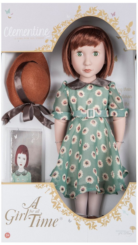Clementine Your 1940s Girl A Girl For All Time 16 Quot Doll