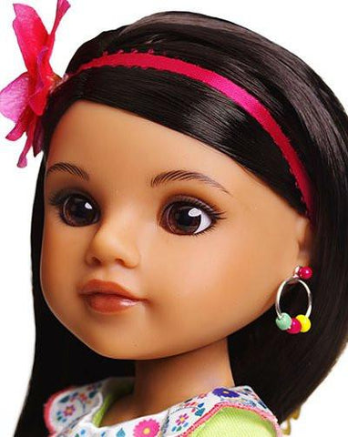 "Hearts For Hearts Girls Consuelo From Mexico 14"" Doll"