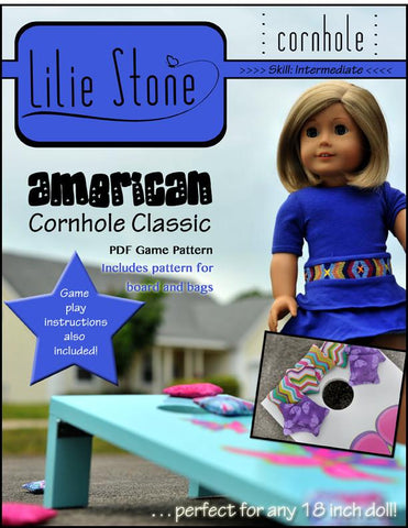 "American Cornhole Classic 18"" Doll Accessories"