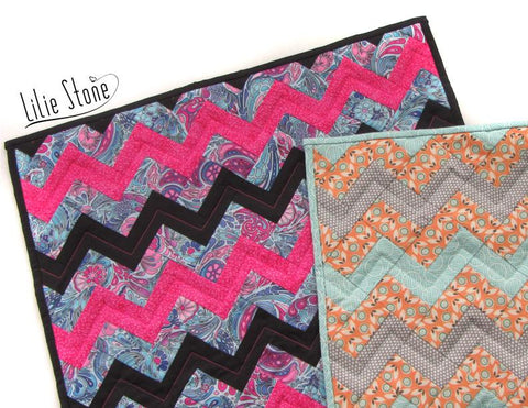 Coastal Chevron Quilting Pattern