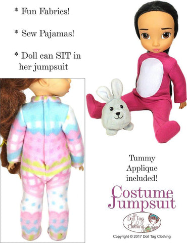 Costume Jumpsuit Pattern for Disney Animators' Dolls