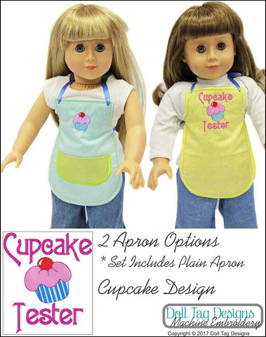 Cupcake Aprons Machine Embroidery Designs