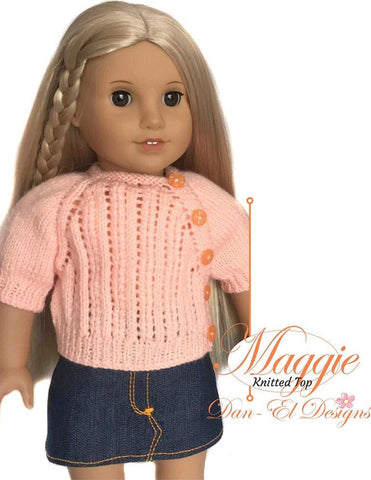 "Maggie 18"" Doll Knitting Pattern"
