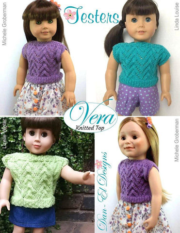 "Vera 18"" Doll Knitting Pattern"