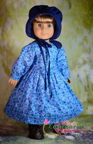 "Prairie Girl 18"" Doll Clothes Pattern"