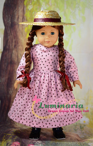 "Carrots 18"" Doll Clothes Pattern"