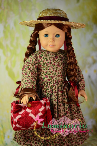 18 inch doll clothes pattern anne of green gable designed to fit American Girl