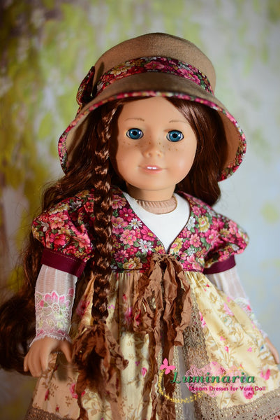 Luminaria Designs Countryside Girl Doll Clothes Pattern 18