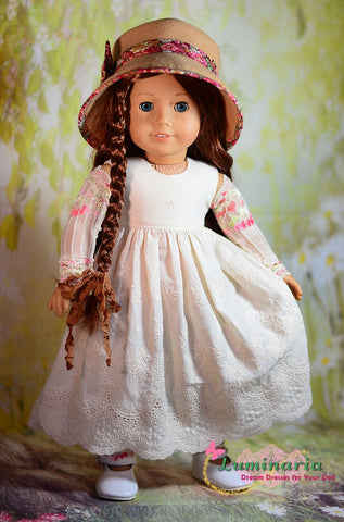 "Countryside Girl 18"" Doll Clothes Pattern"
