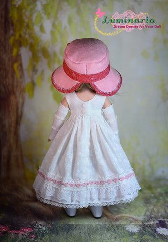 "Countryside Girl 14.5"" Doll Clothes Pattern"