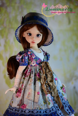Countryside Girl Pattern for MSD Ball Jointed Dolls