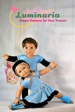 "Aerial Dancers 18"" Doll Clothes Pattern"