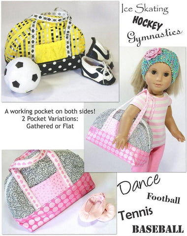 "Sporty Bag 18"" Doll Accessory Pattern"
