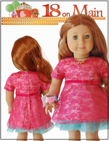 "Daddy Date Night 18"" Doll Clothes Pattern"