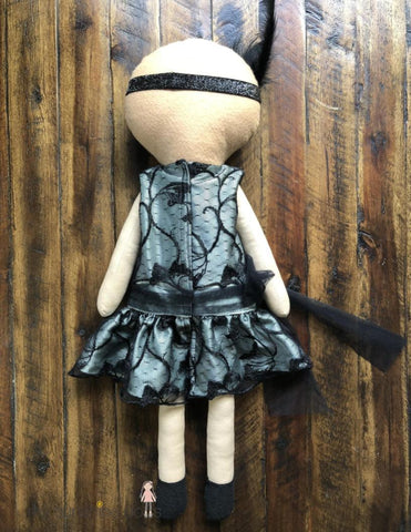"Daisy Flapper Doll 23"" Cloth Doll Pattern"