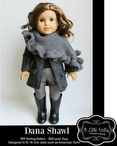 Dana Shawl Knitting Pattern