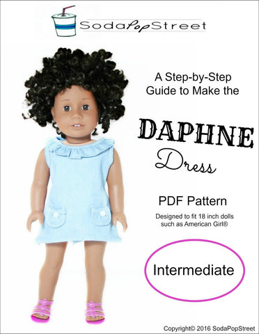 "Daphne Dress 18"" Doll Clothes"