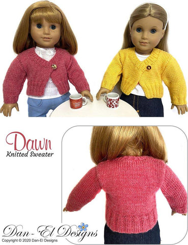 "Dawn 18"" Doll Knitting Pattern"