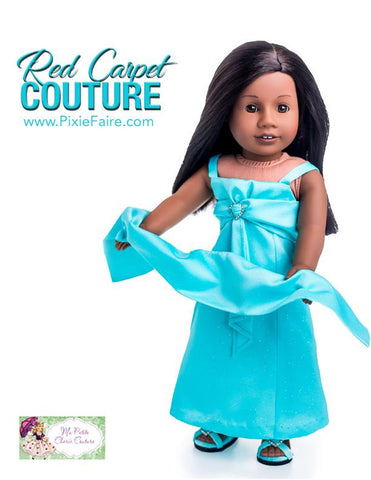 "Diamond Cascade Dress 18"" Doll Clothes"