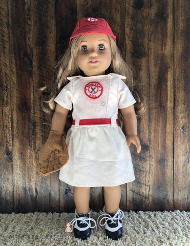 "Double Play Doll 23"" Cloth Doll Pattern"