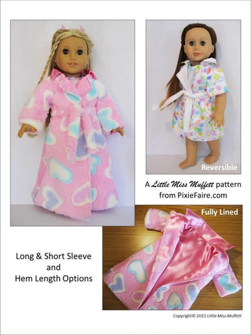 "Dreamy Dressing Gowns 18"" Doll Clothes"