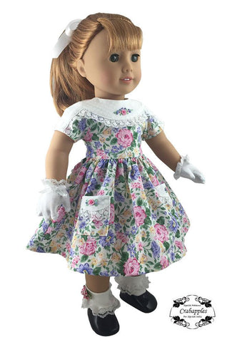 "Dress it Up 18"" Doll Clothes Pattern"