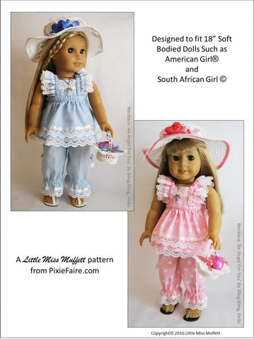 "Easter Parade Bundle 18"" Doll Clothes Pattern"