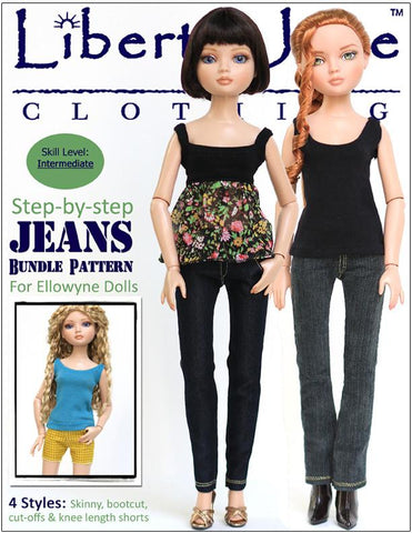Jeans Pattern Bundle for Ellowyne
