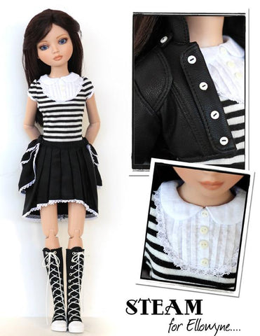 Steam Outfit for Ellowyne Dolls