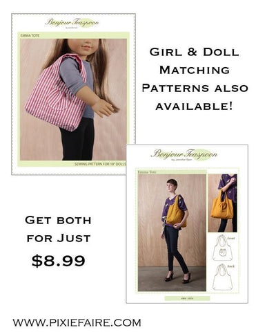 BT Emma Girl/Doll bundle Pattern