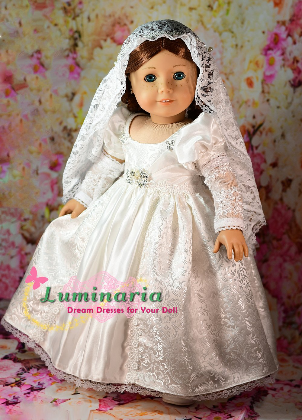 A Classic Wedding pattern for Tyler Wentworth doll by Tonner