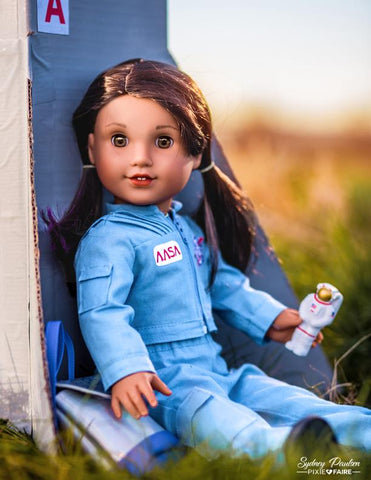 "Space Endeavor Flightsuit 18"" Doll Clothes Pattern"