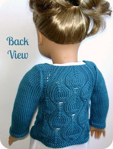 Eva Cardigan Knitting Pattern