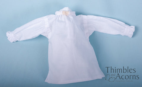 "18th Century Shirt 18"" Doll Clothes Pattern"