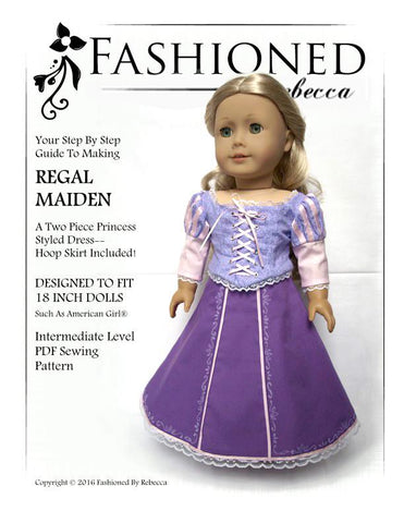 "Regal Maiden 18"" Doll Clothes"