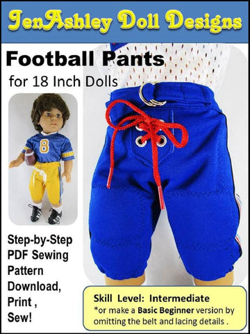 "Football Pants 18"" Doll Clothes"