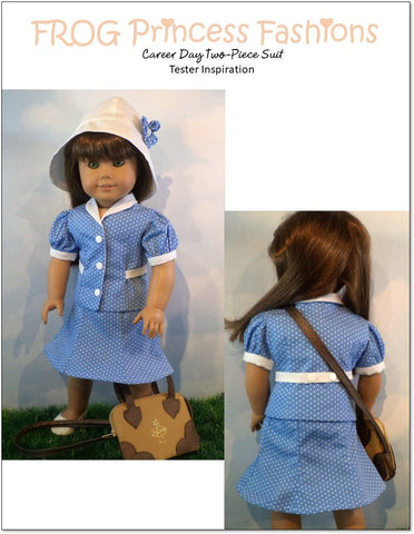 "Career Day 18"" Doll Clothes Pattern"
