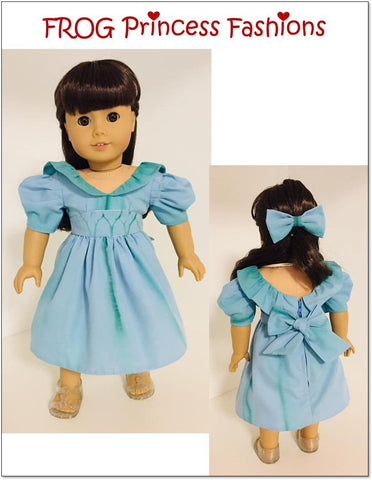 "Party Like It's 1985 18"" Doll Clothes Pattern"