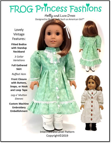 """Red Quilted Jacket /& Checked Ruffled Skirt for 18/"""" American Girl Doll Clothes"""