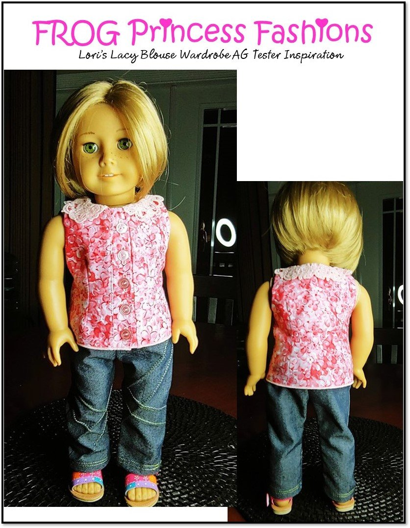 """Love To Dress Up  Sew 18/"""" Doll Clothes   Made From Fat Quarters Annie/'s"""