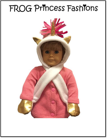 "Super Scoodie 18"" Doll Clothes Pattern"