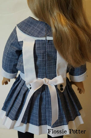 "Central Park, 1904 18"" Doll Clothes Pattern"
